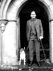 doctor benton and dog