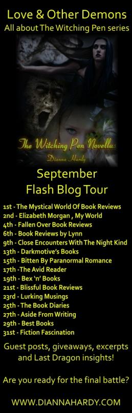 TWP n Last Dragon Blog Tour List
