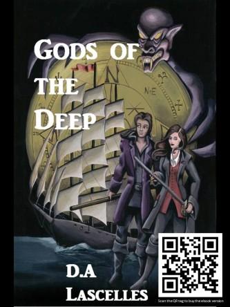 gods of the deep postcard