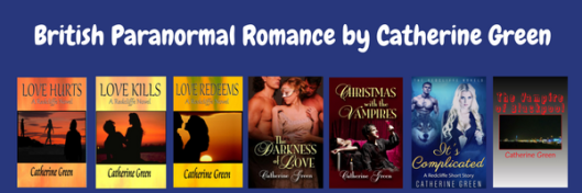 British Paranormal romance by catherine green