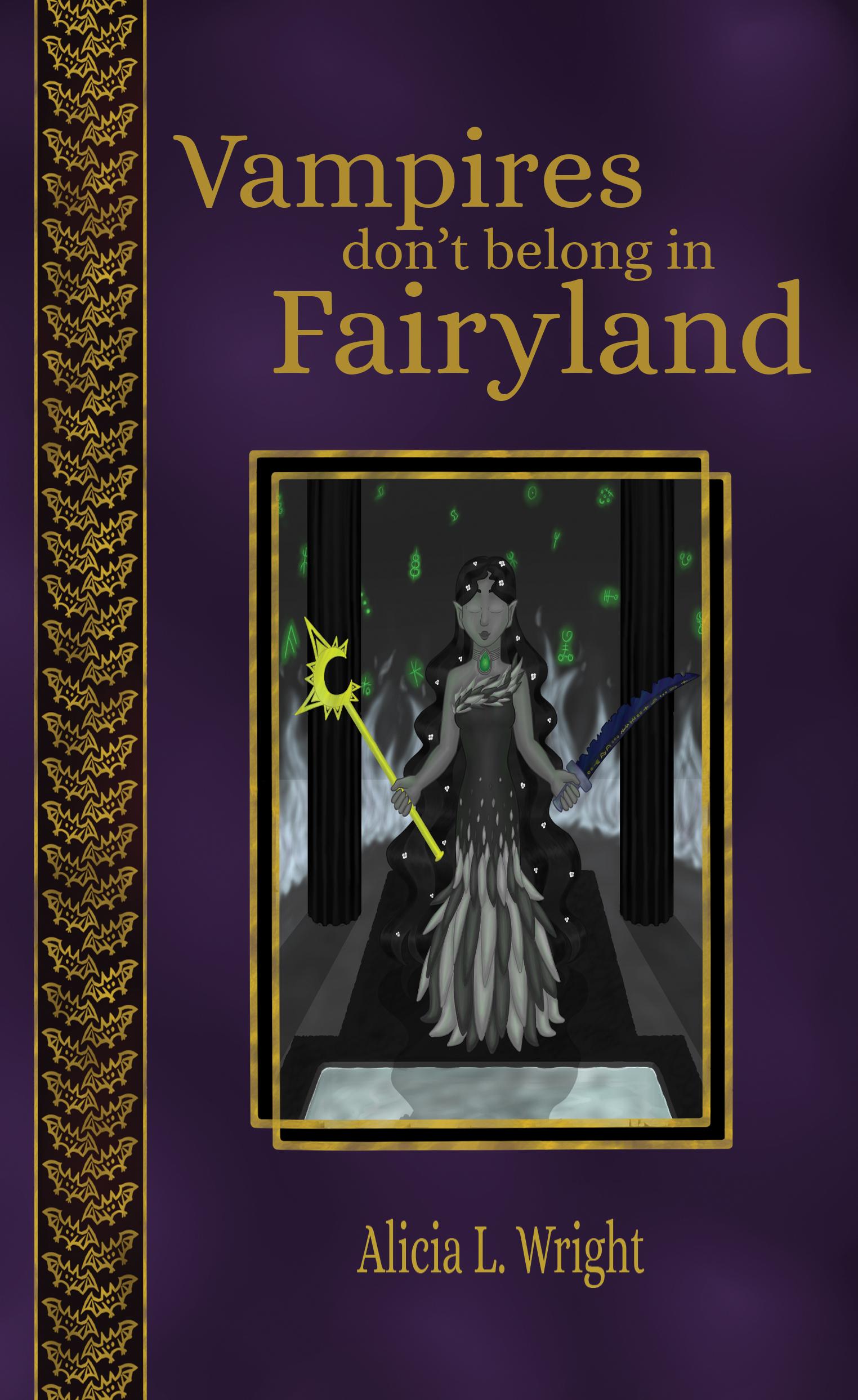 Vampires don't belong in Fairyland Alicia L. Wright