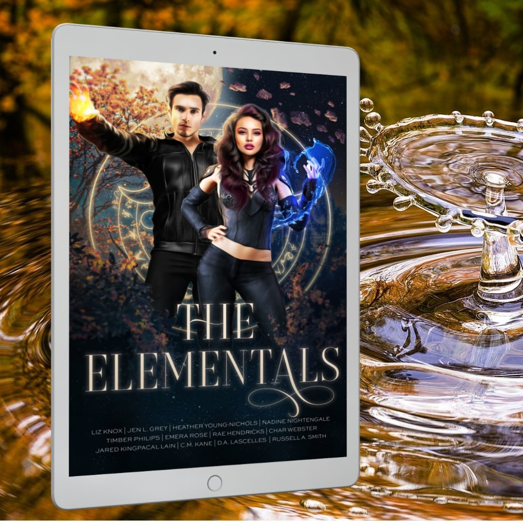 An image of the Elementals cover in a setting representing water